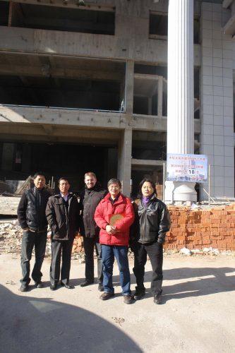 苏州风水大师龙德为某一银行新总部大楼勘测与布局建议。